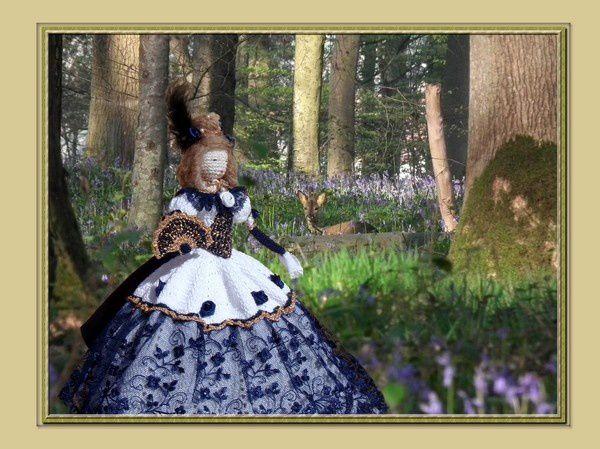 Belle rencontre dans la forêt de Cathie ...