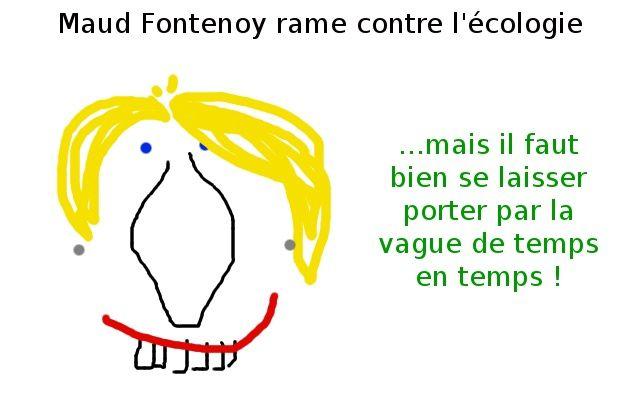 Maud Fontenoy : le réchauffement pour les tièdes !
