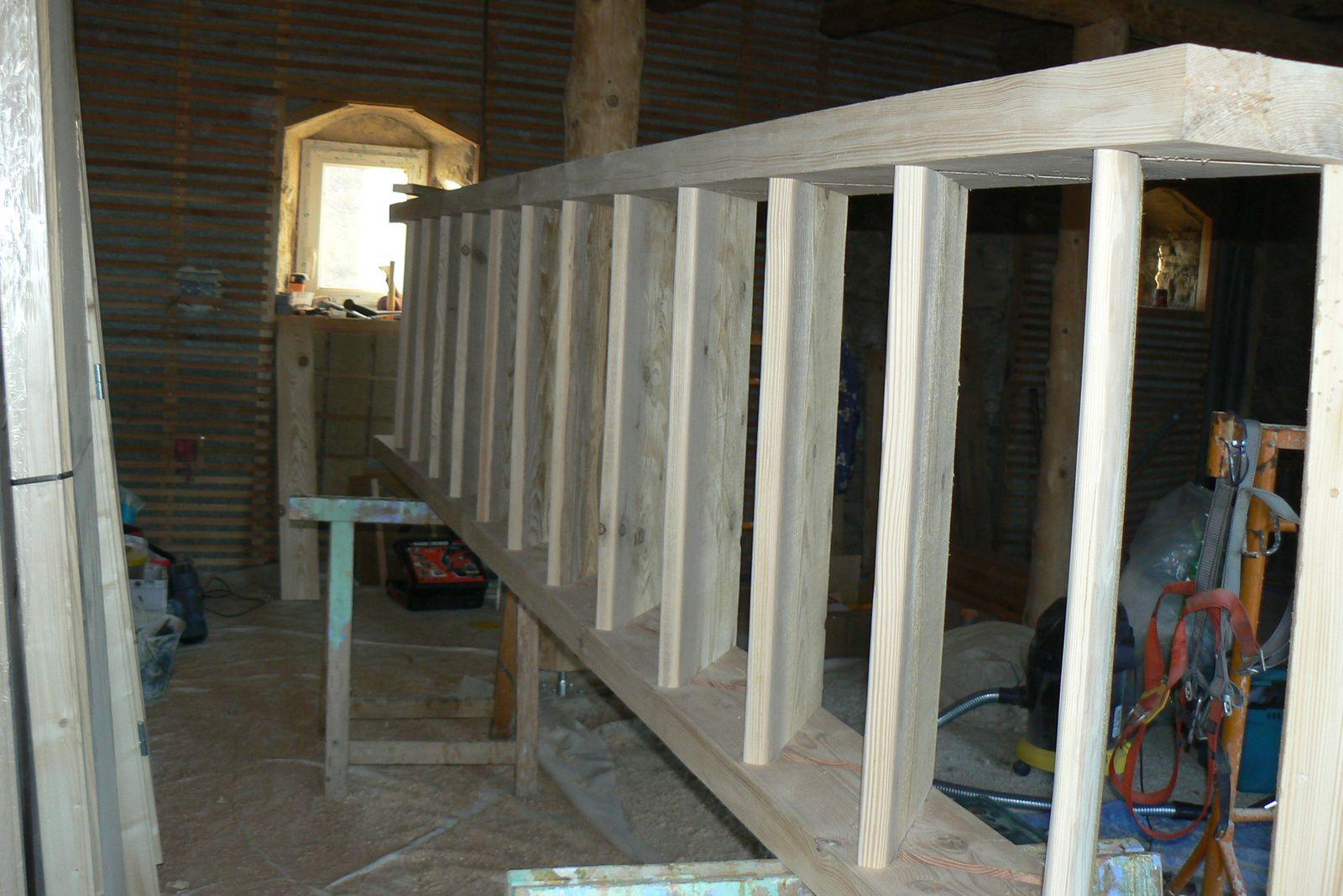 Escalier en bois, mode d'emploi