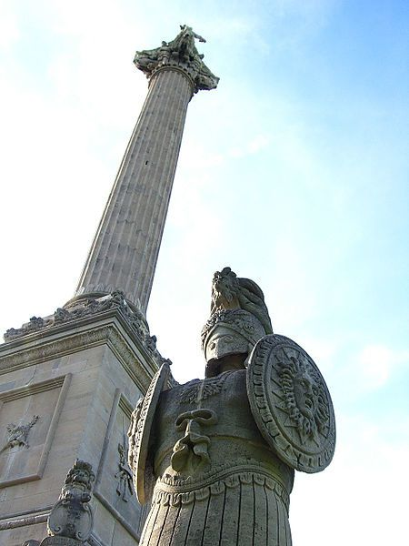 le monument de Brock à Queenston