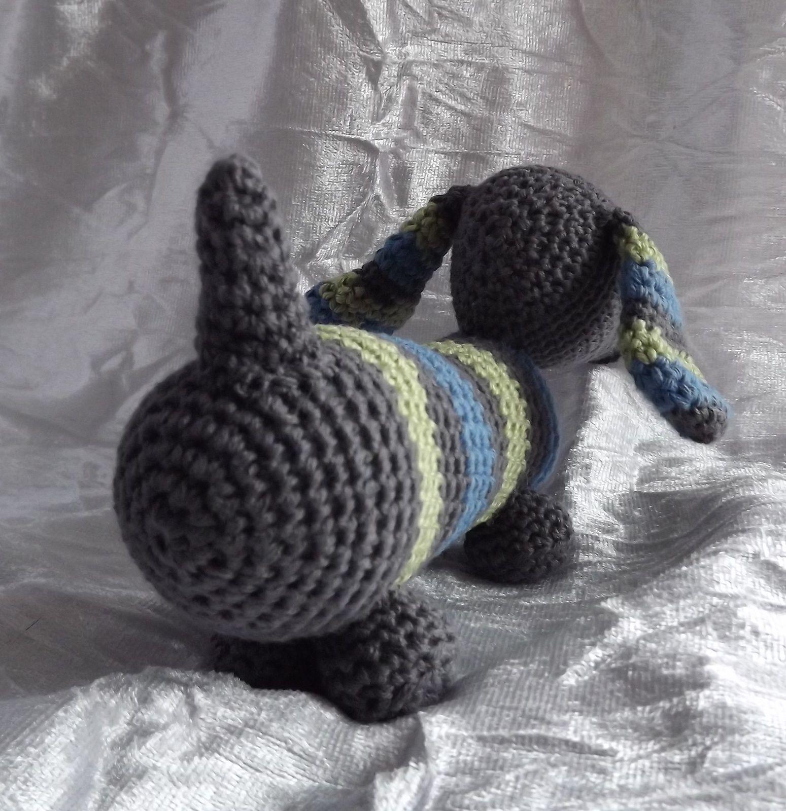 amigurumis- chat en feutrine