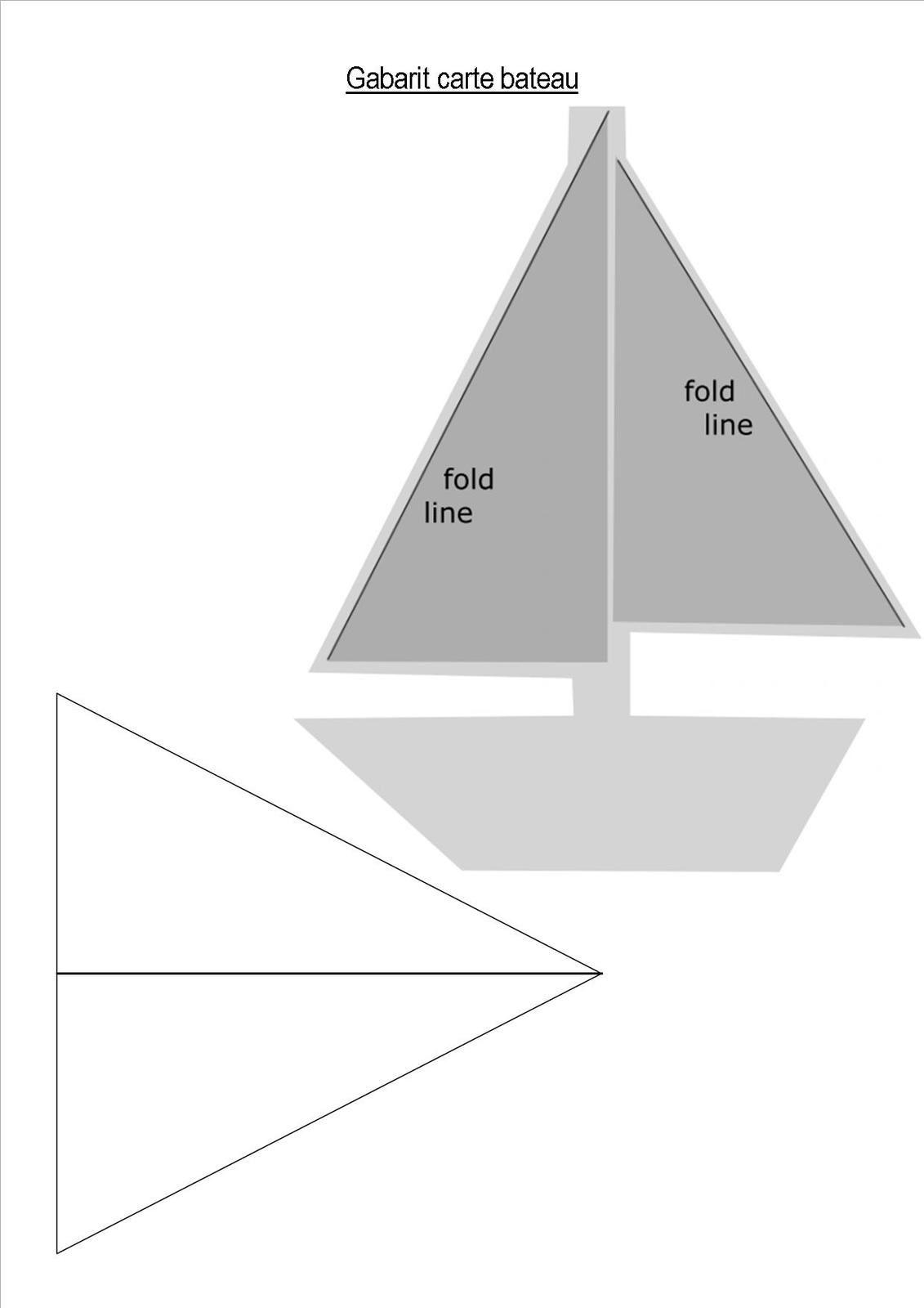 atelier créatif- carte bateau et autres