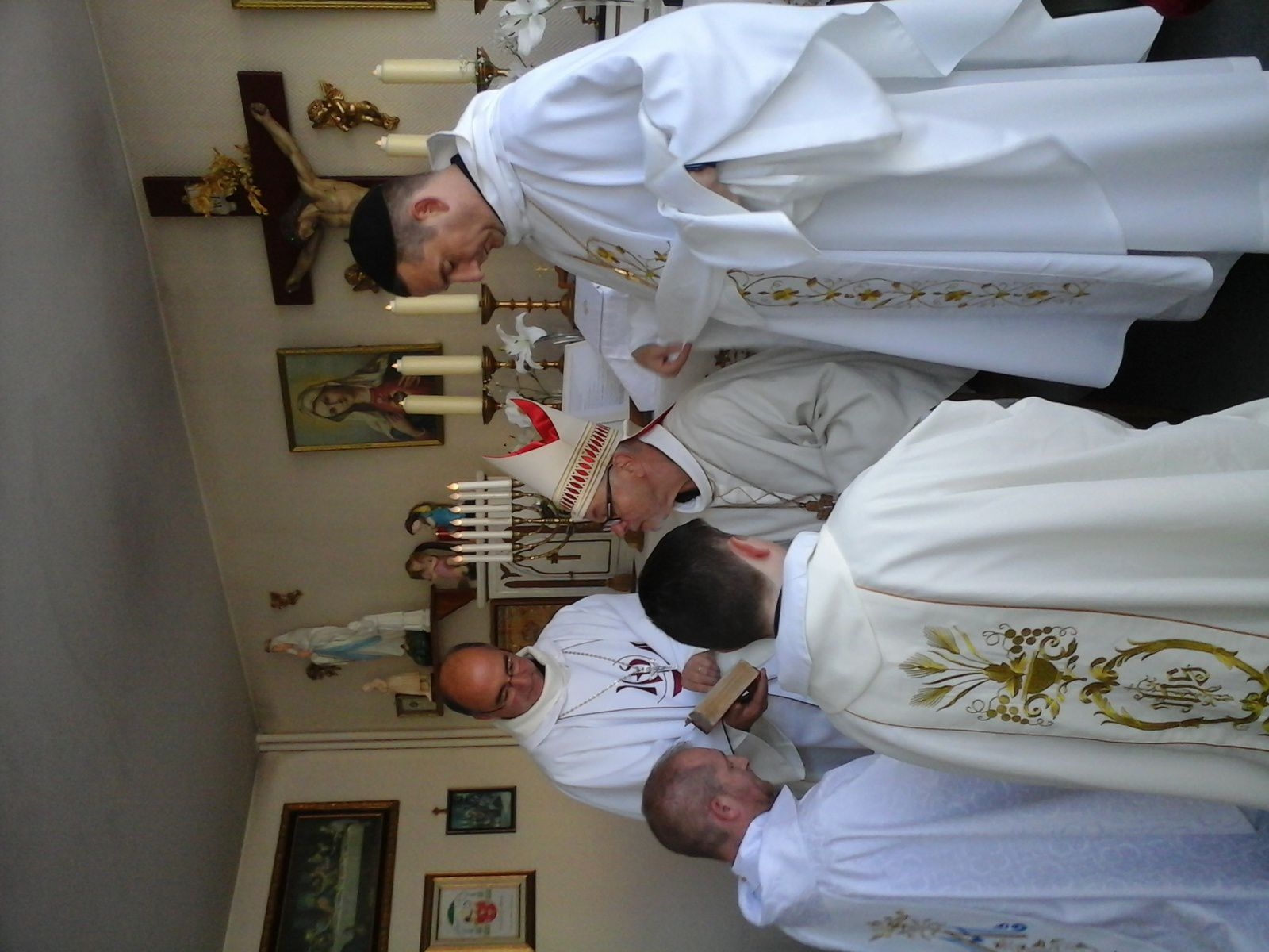 ordinations en notre chapelle de Reims