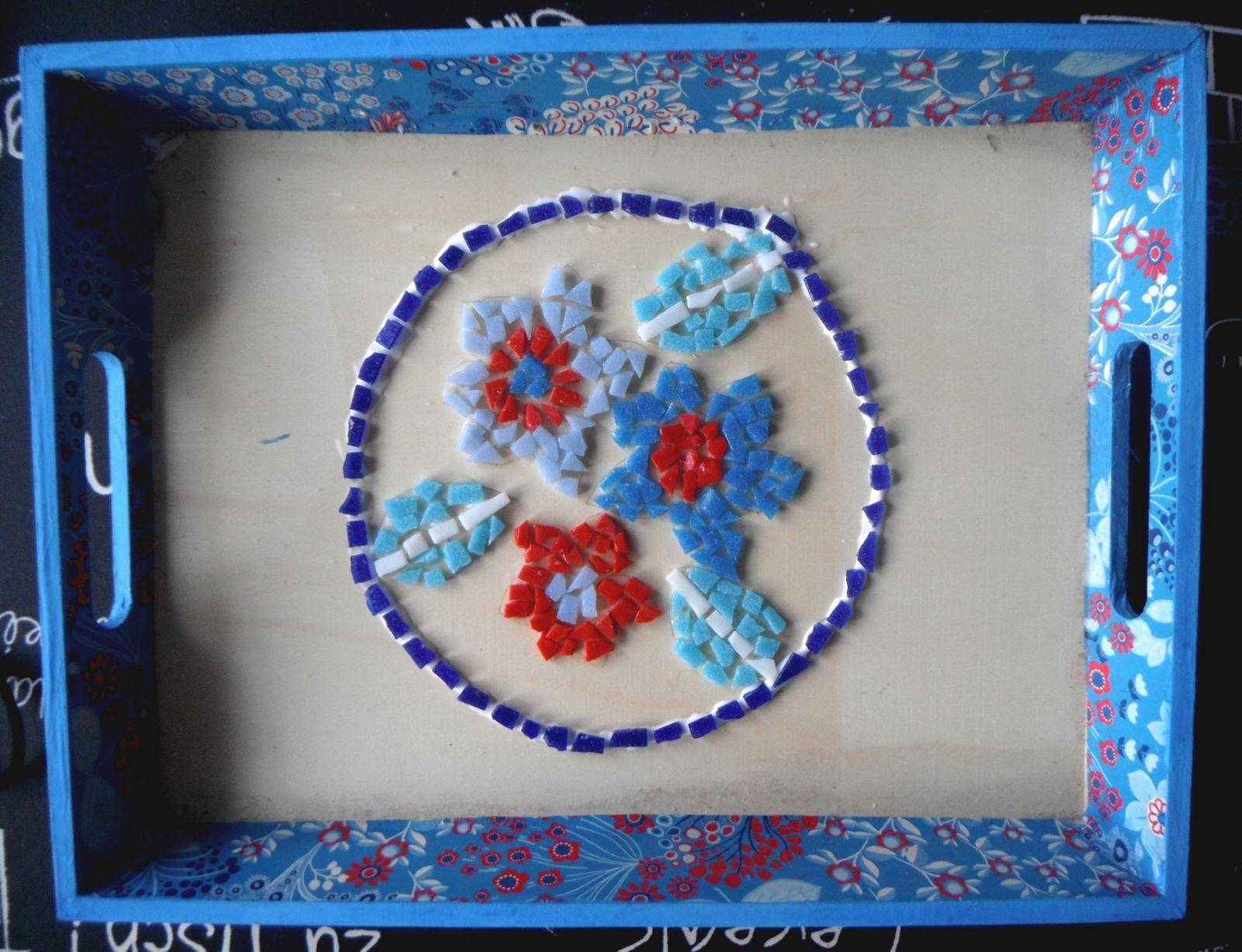 Mosaïque fleurie