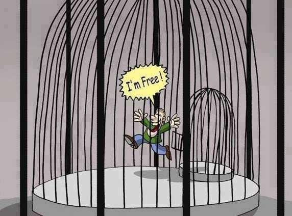 Je suis libre.