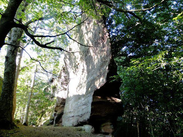 Des rochers à couper le souffle. C'est ça les Vosges.