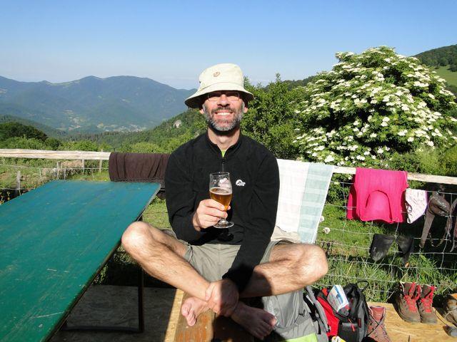 Le Gsang un des plus bel endroit des Vosges. (Photo de l'homme qui tire la langue par Azeddine)