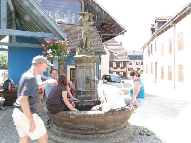 Fontaine à Masevaux.