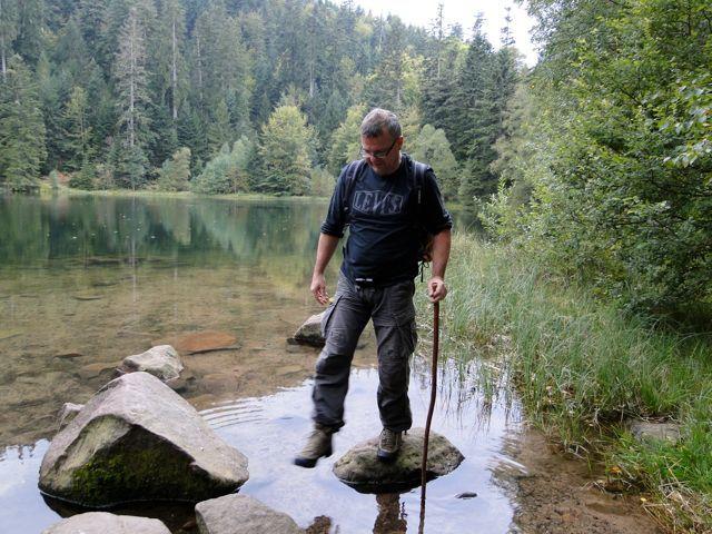 Le lac de la Maix est un très joli petit lac des Vosges entouré de légendes.