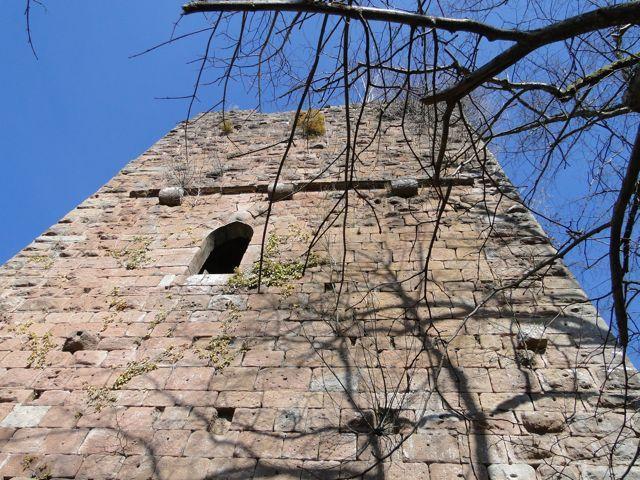Le château inférieur du Nideck.