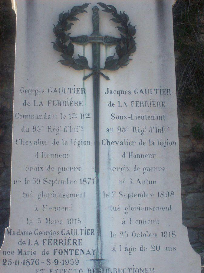 Cimetière d'Autun - Rue de la Maladière - 71400 Autun.