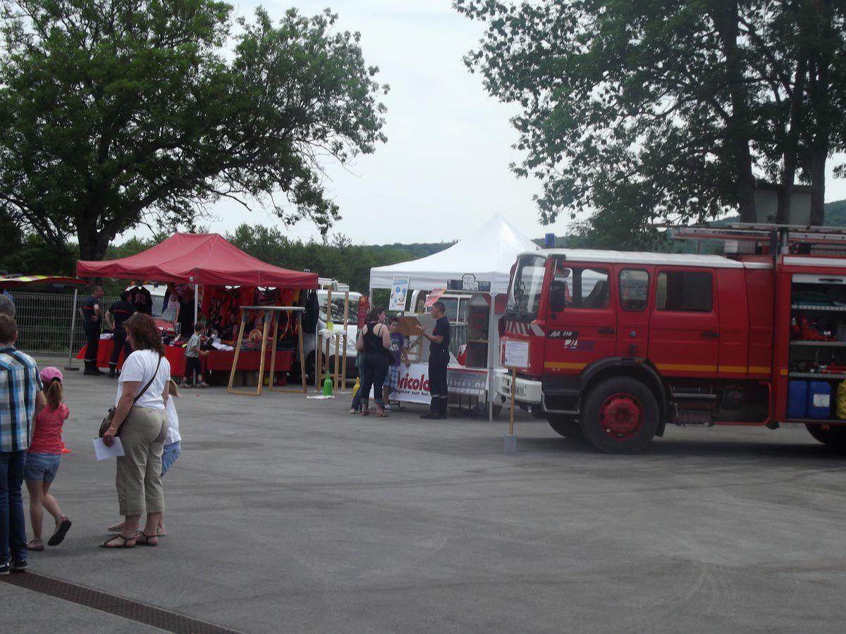 Centre d'incendie et de secours Charles Echavidre, avenue André Frénaud - 71400 Autun. Journée Portes ouvertes, le 08 juin 2013. La 3e, 4e, 5e, 6e, 7e, 8e et 9e photo proviennent du site Autun-info.