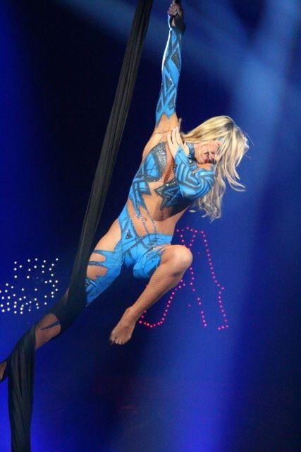 Représentation publique du cirque AMAR. 2eme partie. ¤¤¤ Photos de Mr Bastien Migault du site Autun-info.