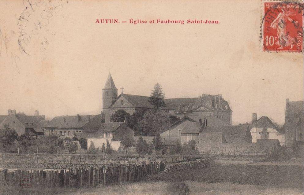 Faubourg Saint-Jean - 71400 Autun. (1er partie)