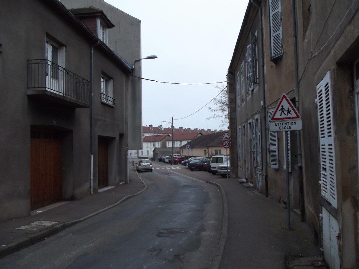 Rue saint-Jean - 71400 Autun. ¤¤¤ Quartier Saint-Jean ¤¤¤