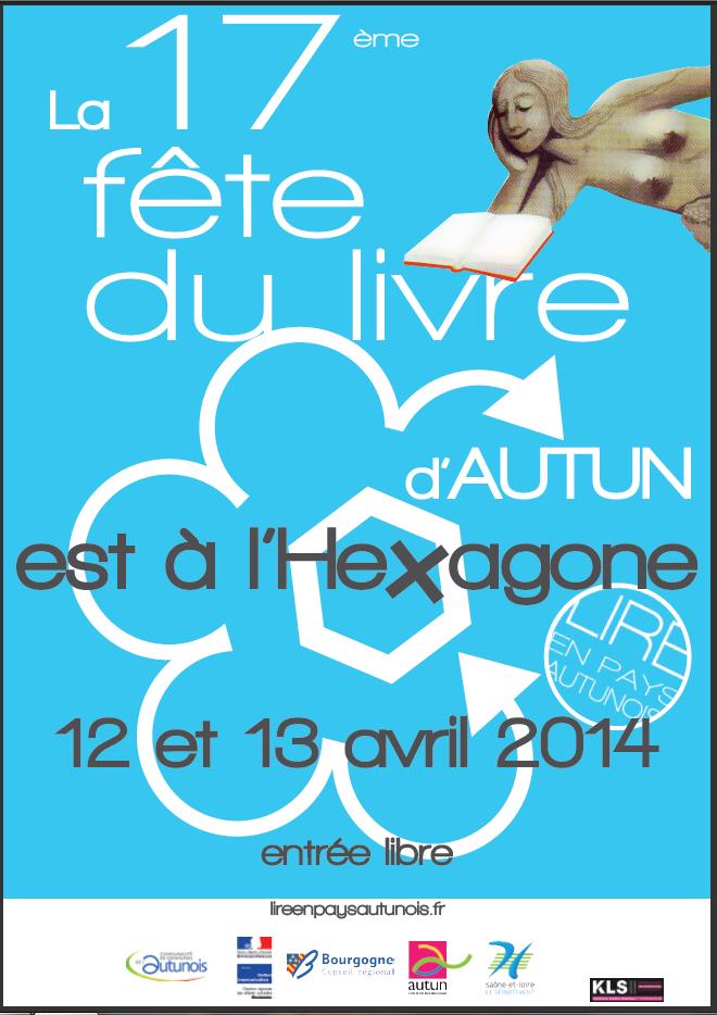 17e fête du livre à l'Hexagone - 71400 Autun.