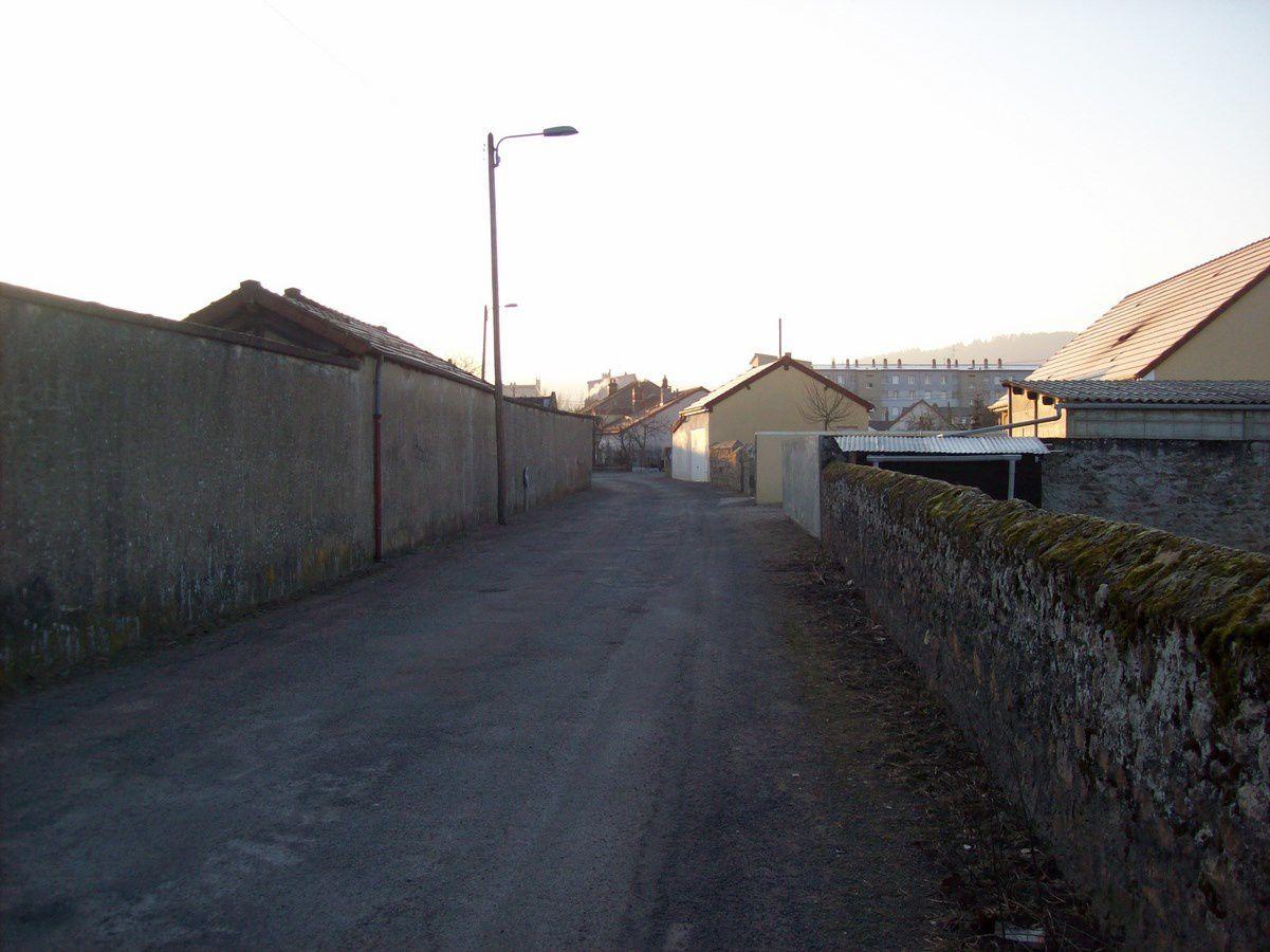 Rue de la Caserne - 71400 Autun. ¤¤¤ Quartier Faubourg d'Arroux ¤¤¤
