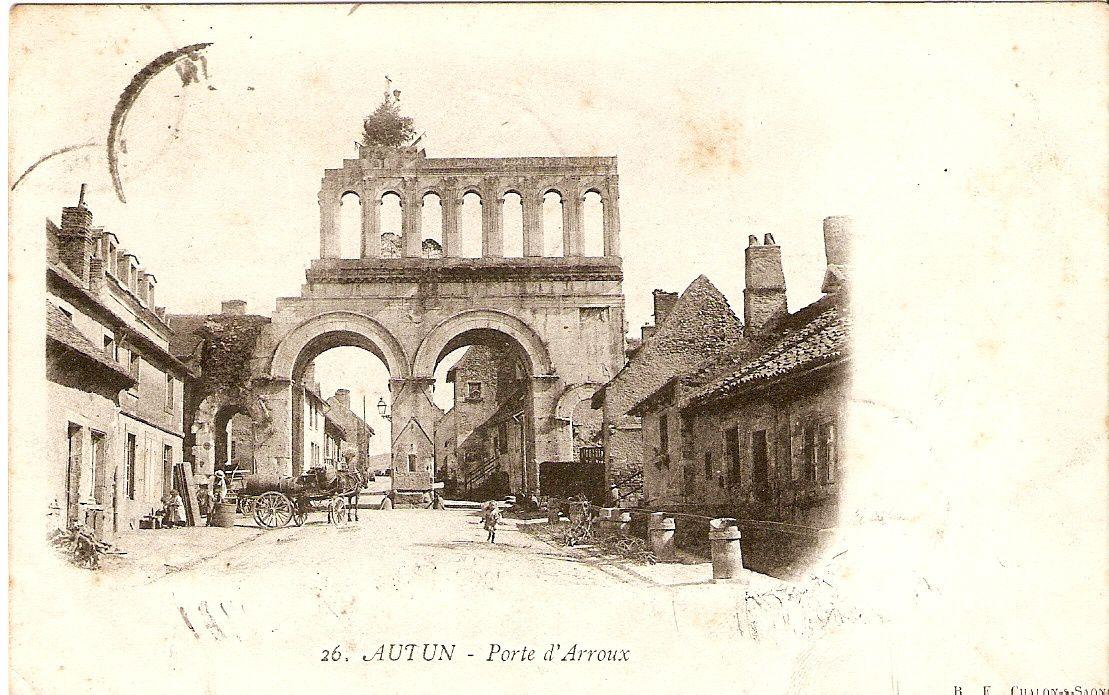 Rue du Faubourg d'Arroux - 71400 Autun.