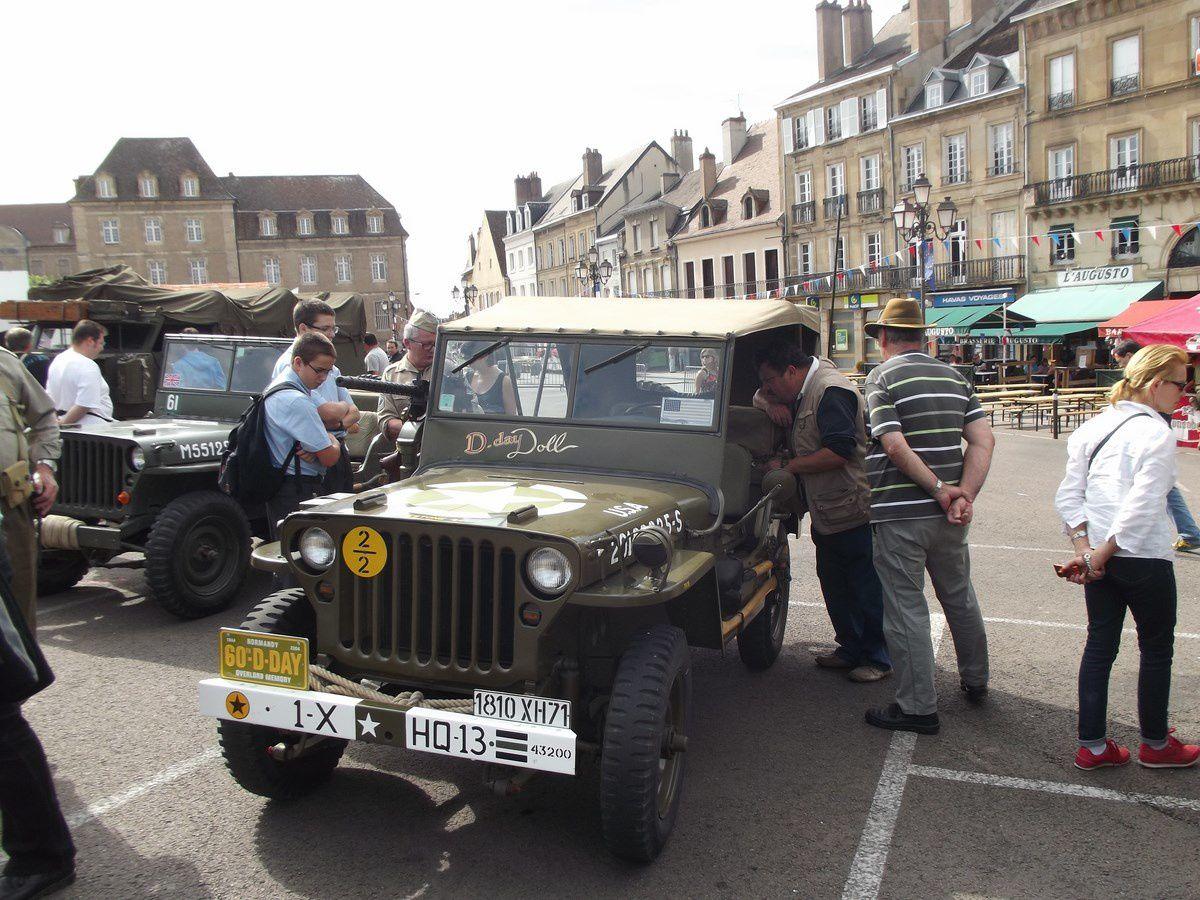 70e anniversaire de la libération d'Autun - Place du Champ de Mars - 71400 Autun.