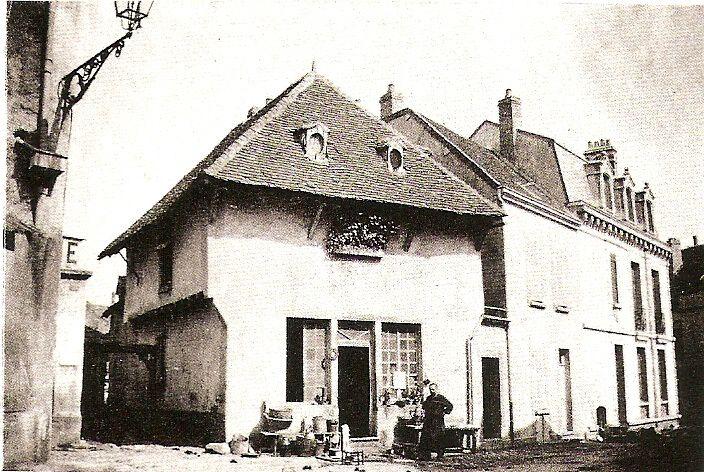 Quartier Marchaux : la Petite rue Marchaux autour de 1900.