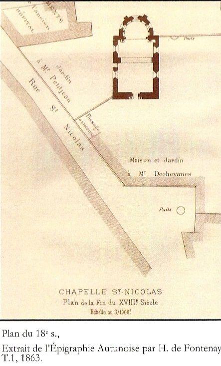 Musée lapidaire - rue Saint-Nicolas - 71400 Autun    ¤¤¤ Quartier Marchaux ¤¤¤