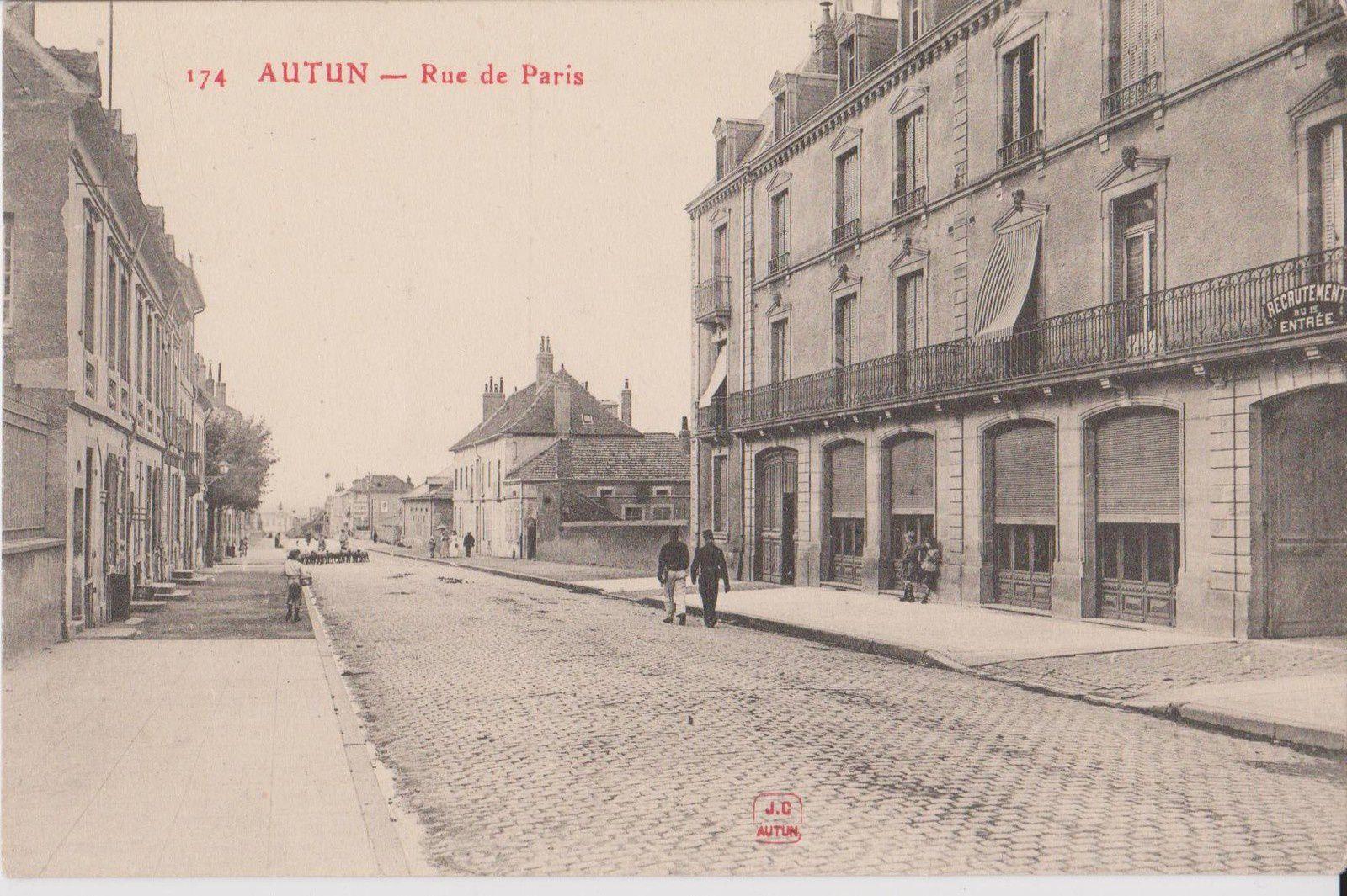 Rue de Paris 71400 Autun.   ¤¤¤ Quartier Marchaux ¤¤¤