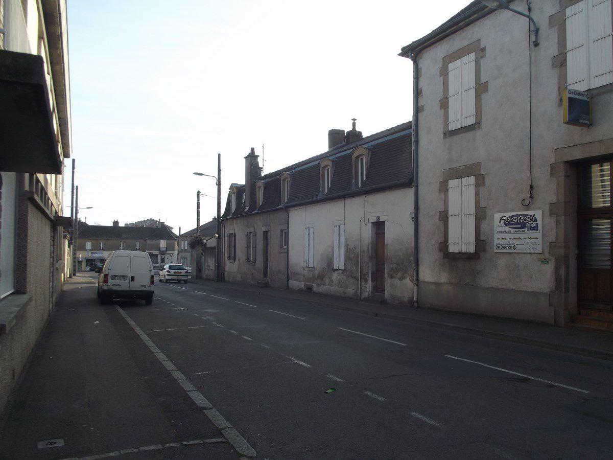 Rue de Dijon - 71400 Autun.    ¤¤¤ Quartier Marchaux ¤¤¤