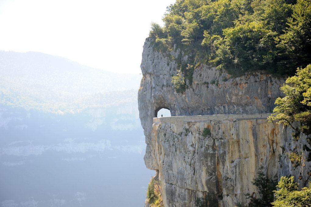 La Drôme c'est haut en altitude...