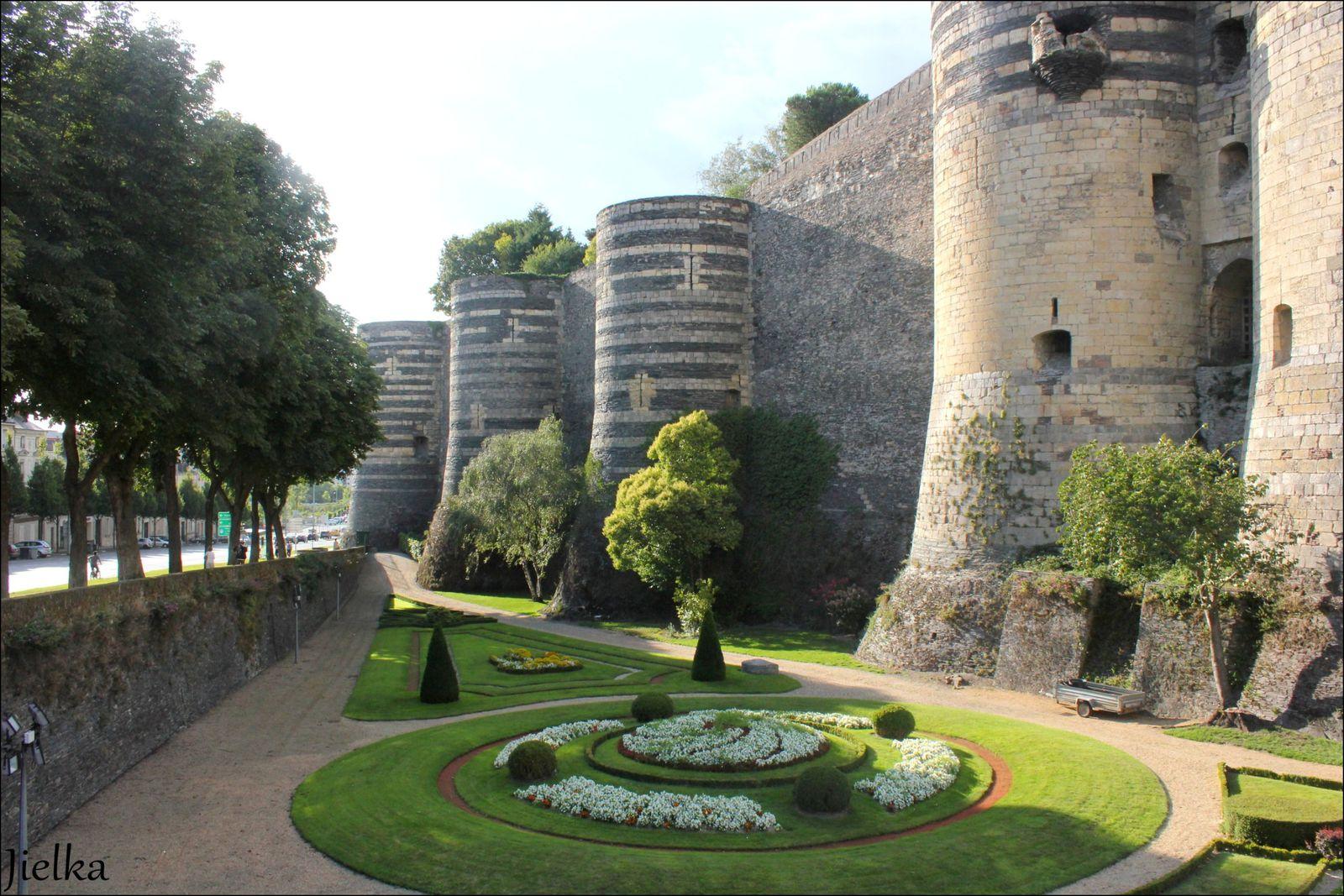 Le château du roi René et la maison Pincé