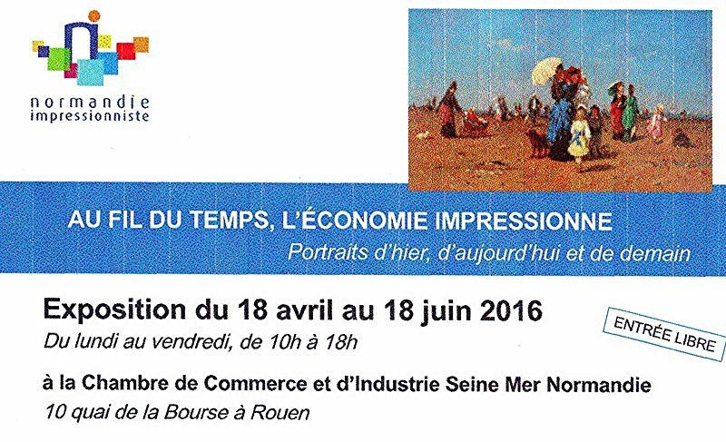 VERNISSAGE le 18 avril 2016 à 11h30 à la C.C.I.