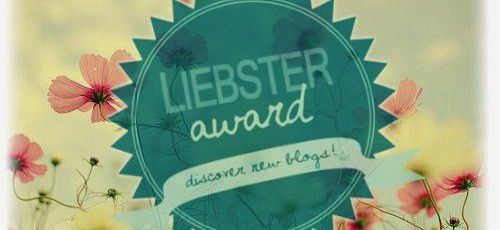 Liebster Award X 3