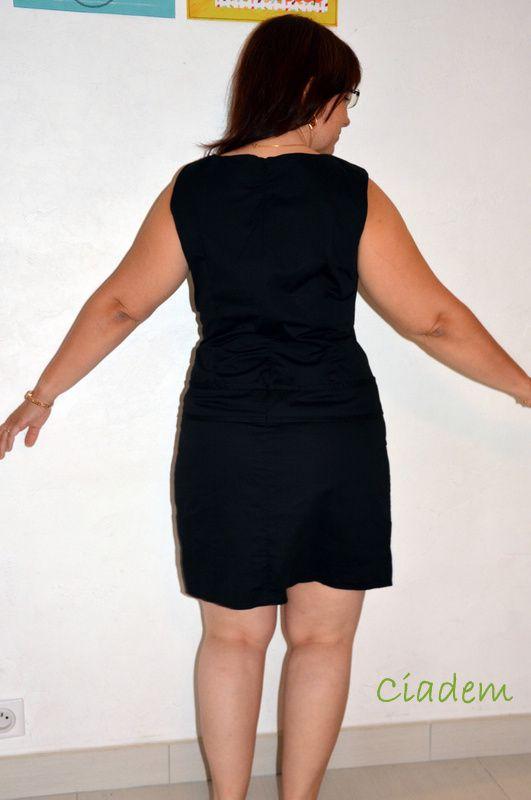 Petite robe noire customisée