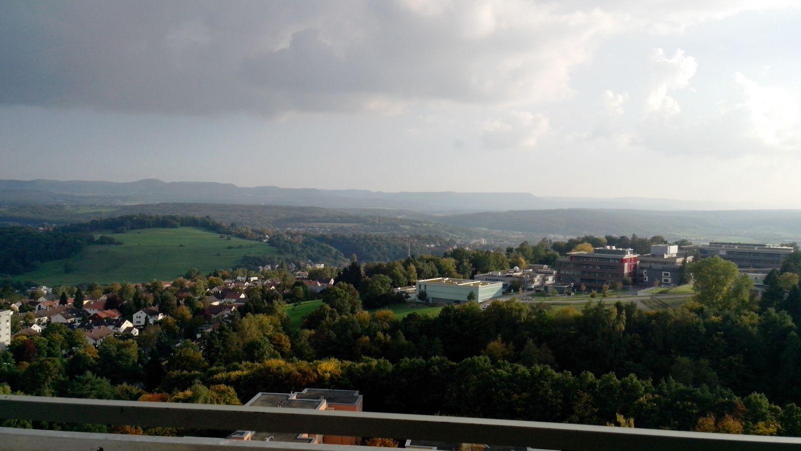 Wunderschöne Aussicht vom Balkon / La vue merveilleuse de mon balcon