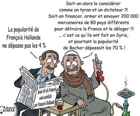 Pas de polémiques sur les crèches de Noël dans la République syrie laïque de Bachar el Assad - c'est pas comme sous le régime de Manuel Valls !