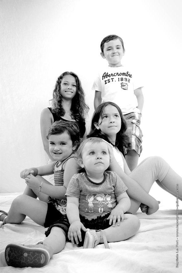 19 juillet - Portrait des 5 petits enfants de Madame Nudelmont