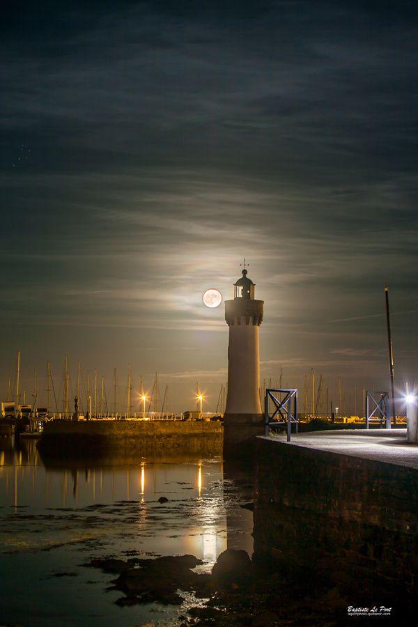 14 novembre - La Super lune à Port Haliguen Quiberon
