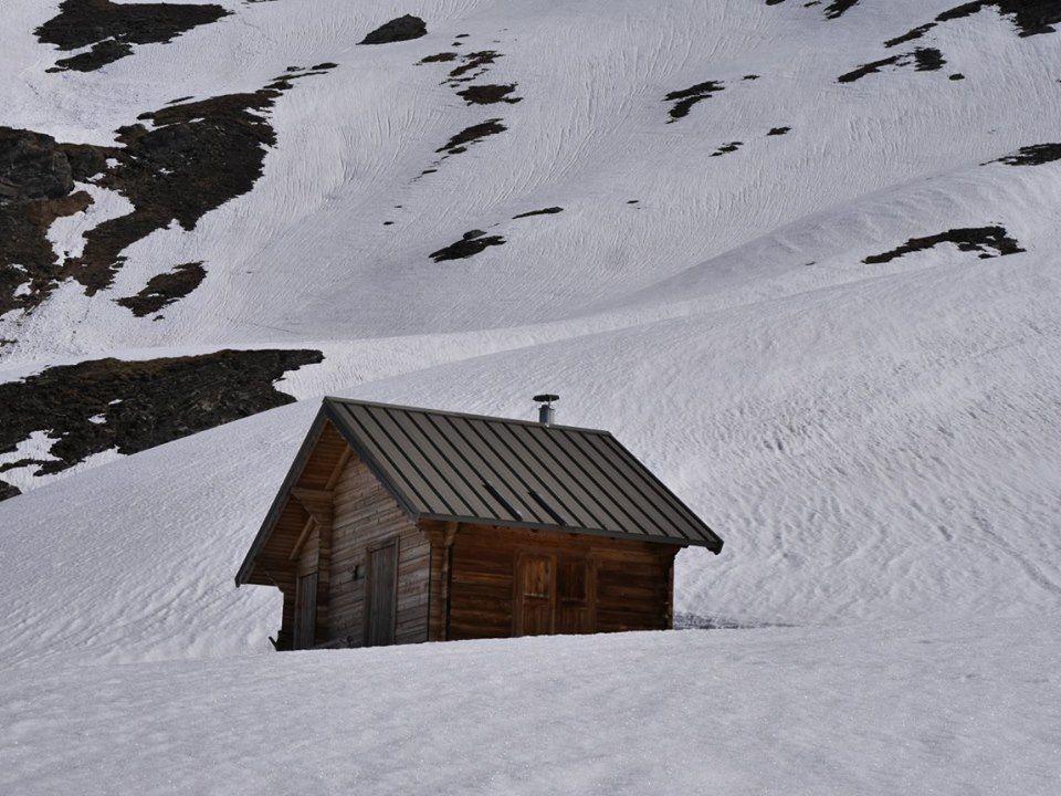 Col Saint Martin ou d'Abriès (2 658m)