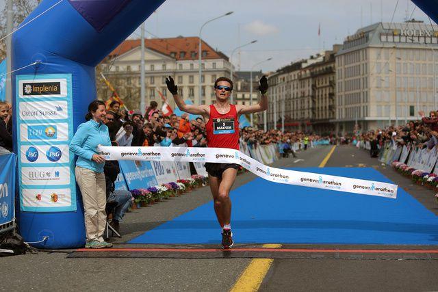 Le Biélorusse Maksim Pankratov remporte le 9e marathon de Genève.