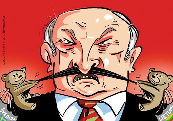 L'affaire du bombardement de nounours en Biélorussie a titillé le président Loukachenko