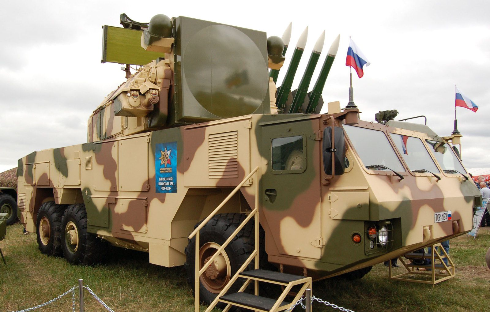 Missiles Tor-M2 russes