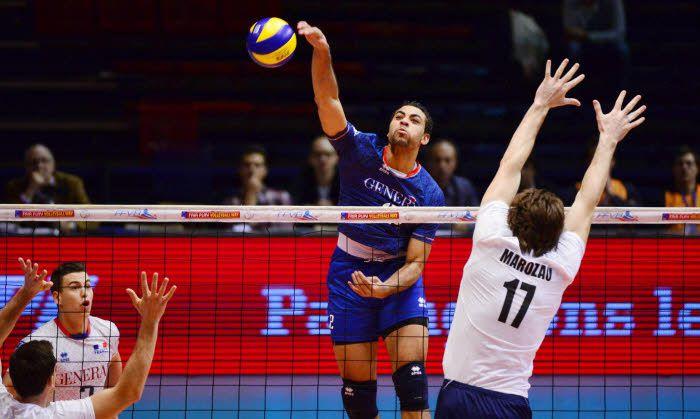 Volley : Les Bleus assurent leur entrée en battant la Biélorussie