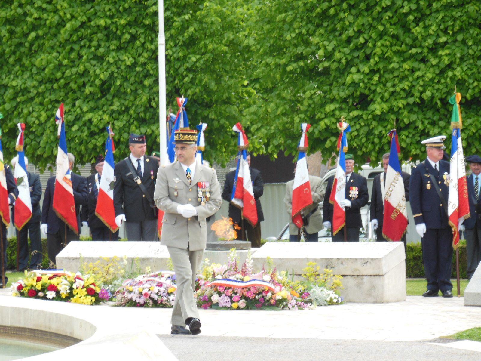 Cérémonie commémorative du 8 mai 2013 à Tours