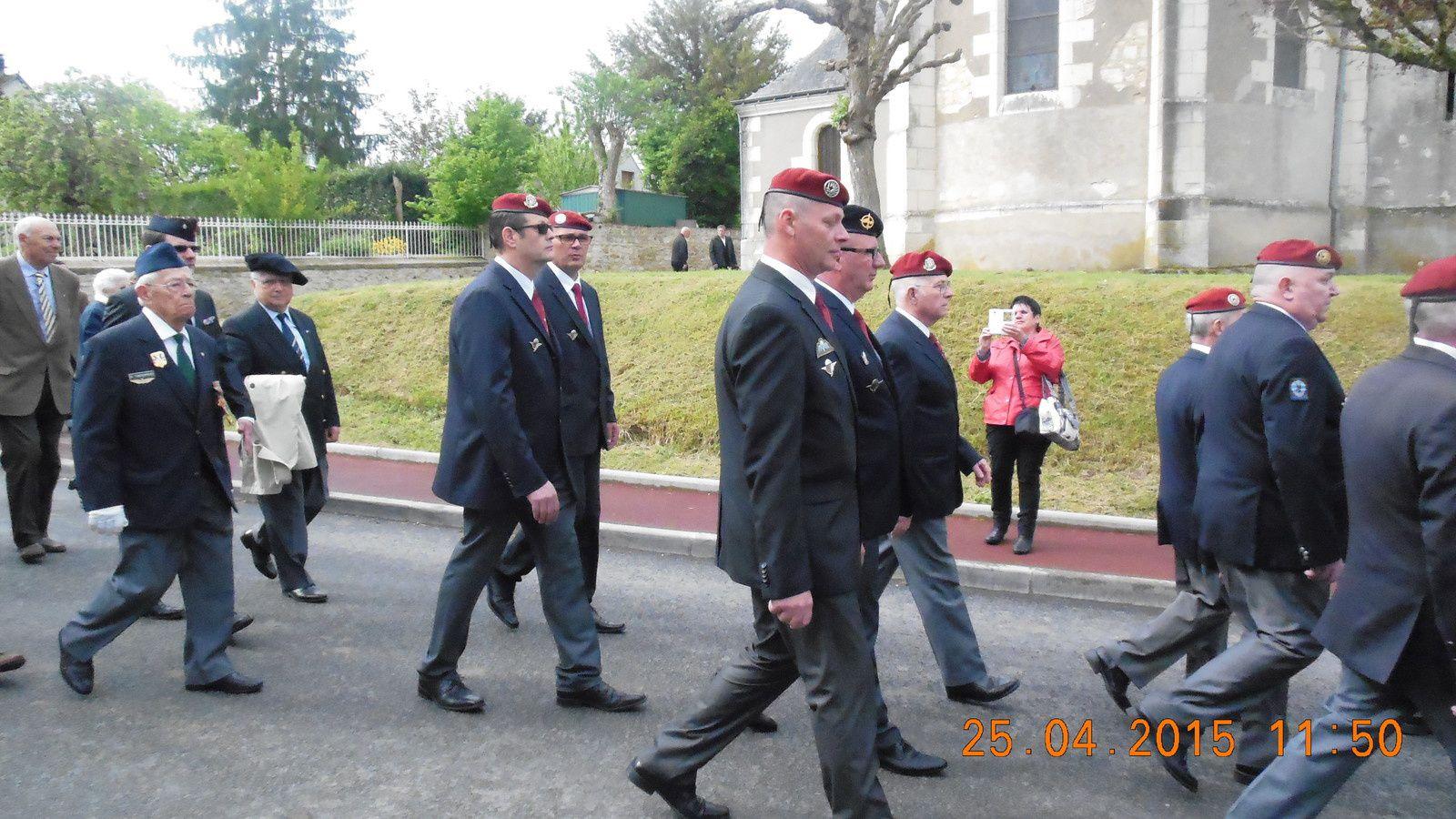 Photos de la Cérémonie du samedi 25 avril 2015 à Cussay