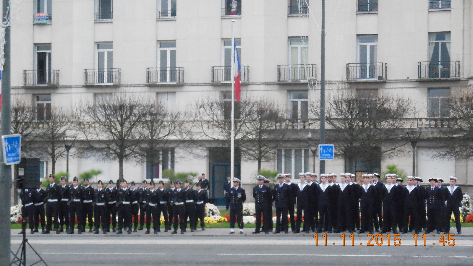 Photos de la cérémonie du 11 novembre 2015 à Tours