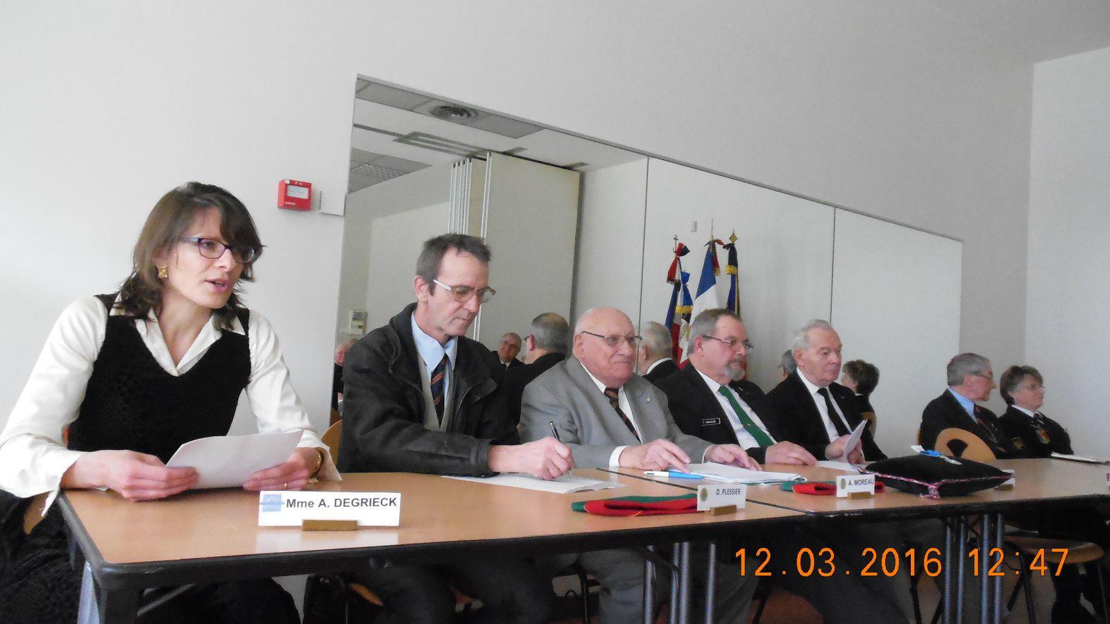 Photos de l'AG de la FNCV du 12 mars 2016 à Tours
