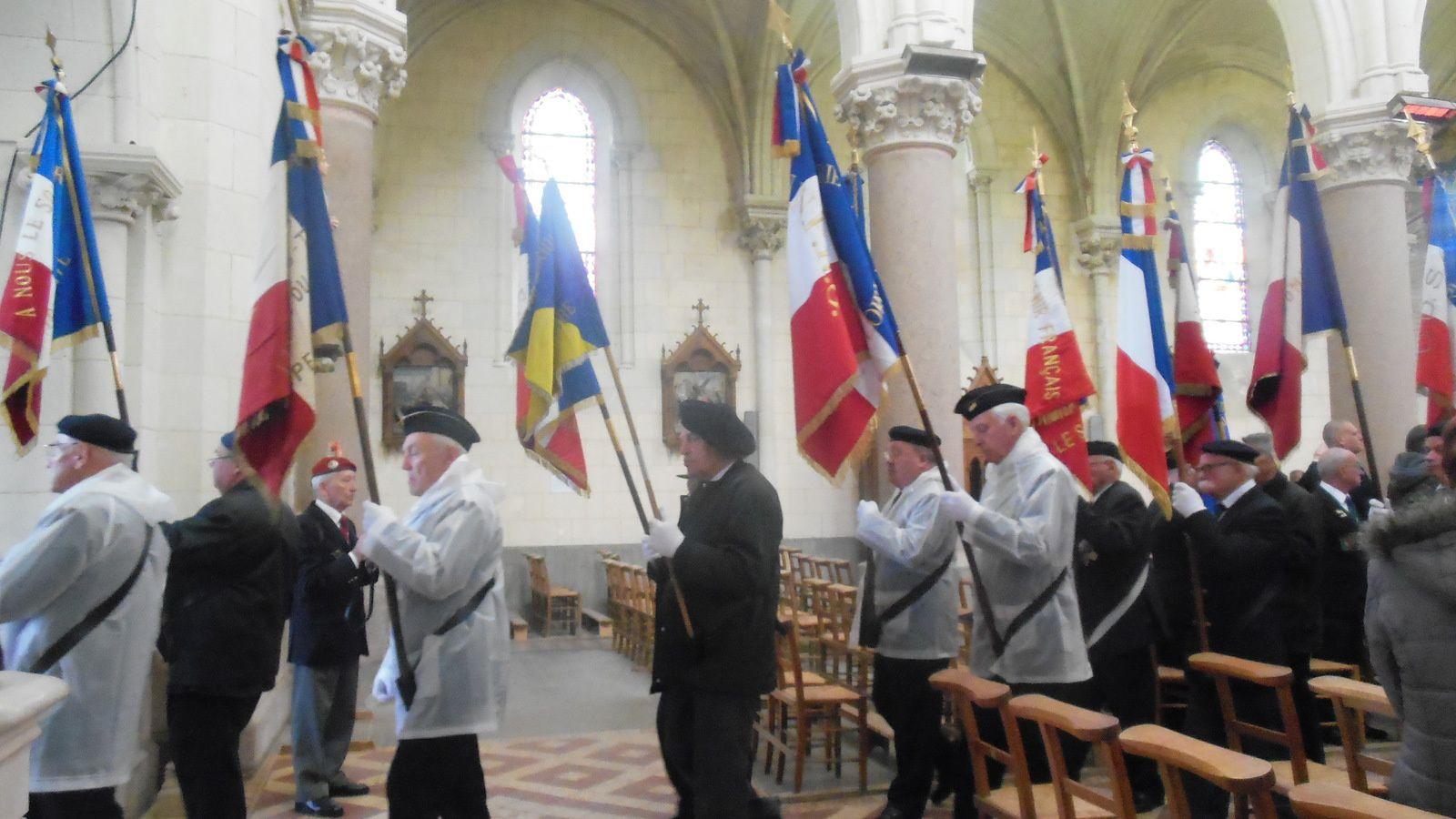Cérémonie de Camerone du 30 avril 2016 à Montjean-sur-Loire