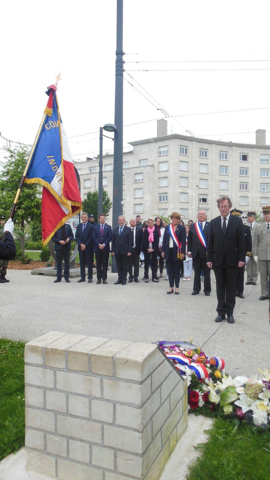 Photos de la cérémonie du centenaire de la bataille de Verdun - 29/05/2016 à Tours