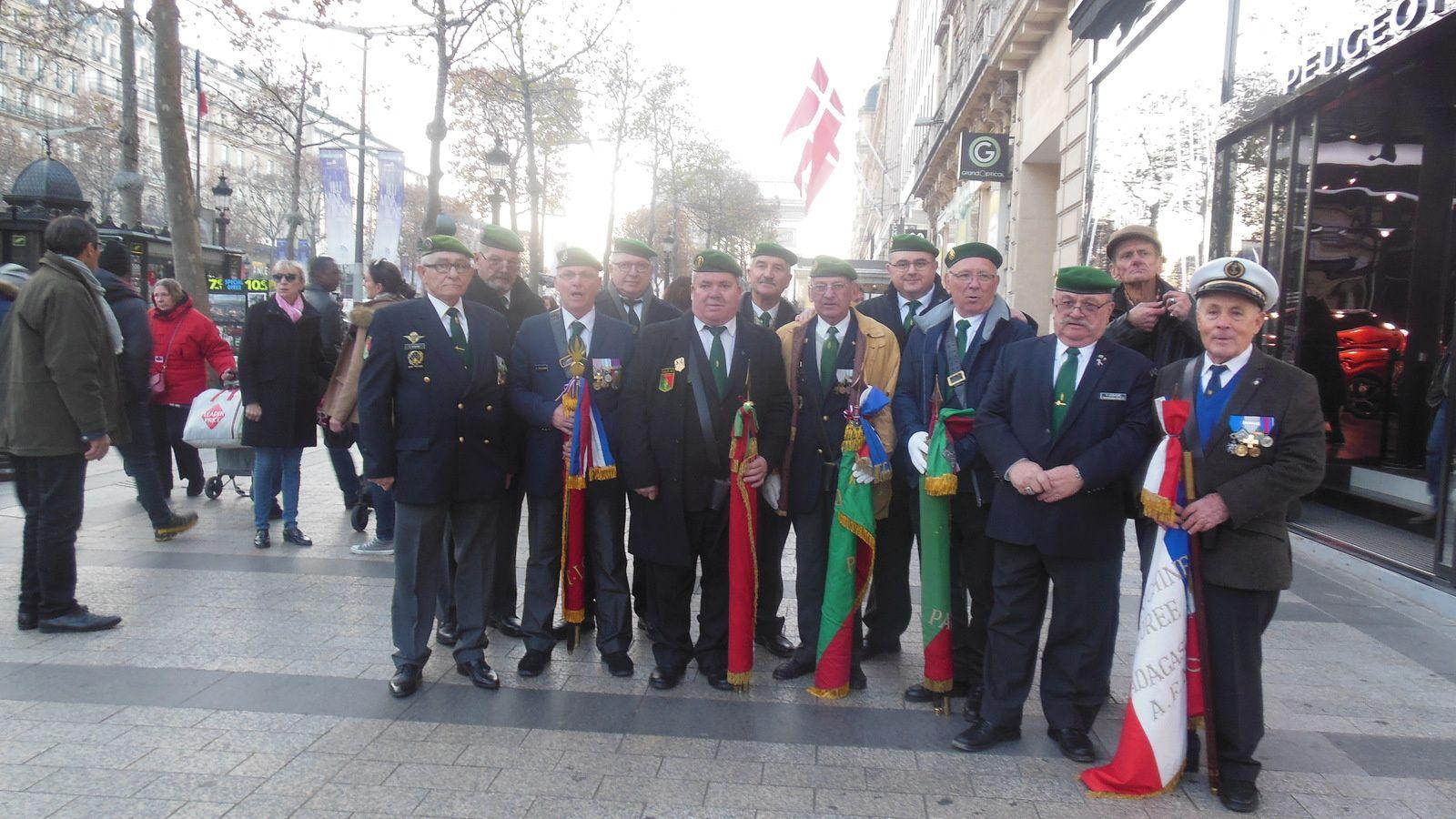 Photos de la cérémonie du 5 décembre 2016 à Paris