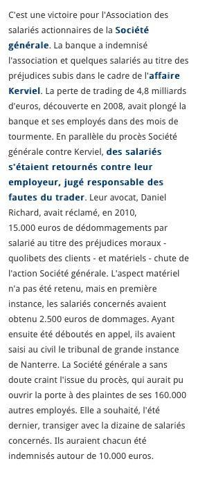 Le Figaro le 22 Janvier 2014