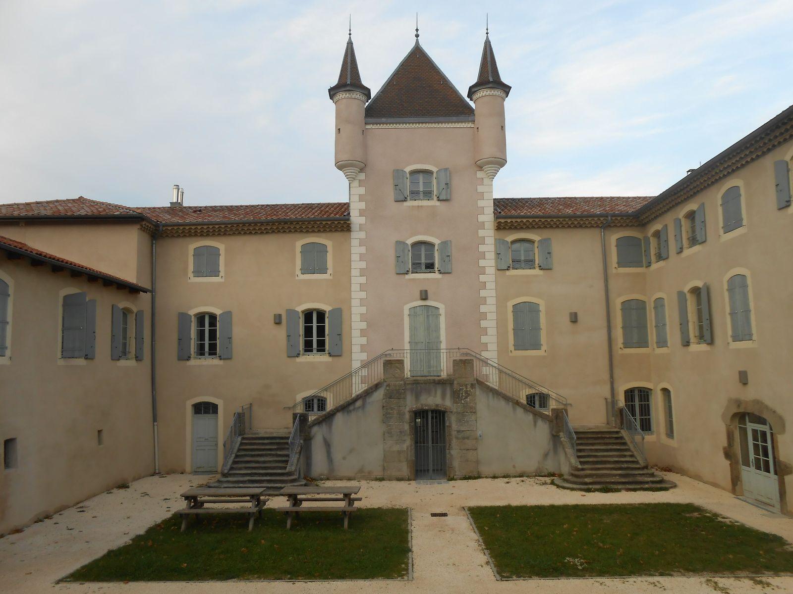 Le château de Rochemure, Maison du parc sera le site névralgique de la logistique du cross